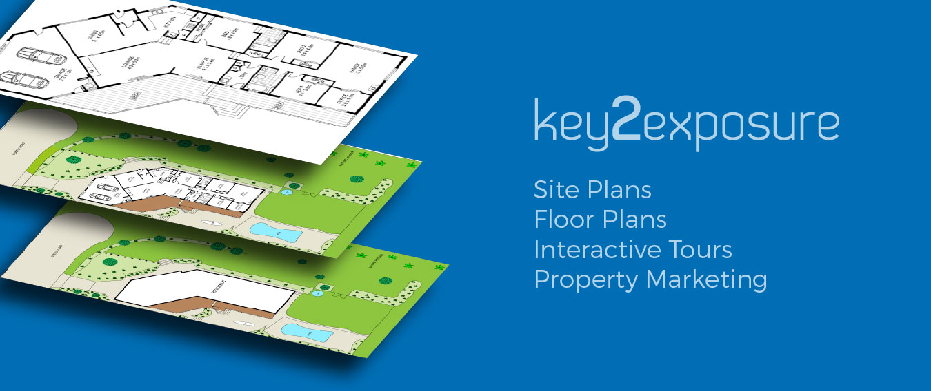 Key2Exposure Floor Plans Site Plans
